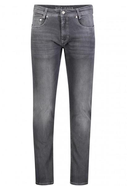 MAC Arne Pipe Jeans DenimFlexx L38 Inch, black washed