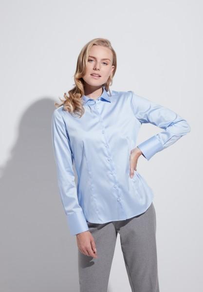 Eterna Blouse Modern Fit, light blue