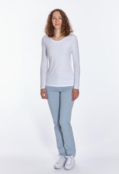 CS-Ronja slim fit lightweight cotton pants L38 inches