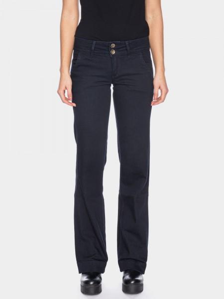 I LOVE TALL ATO Berlin Lilia Jeans 38 Inch Innenbeinlänge Bio-Baumwolle, dunkelblau (vorne)