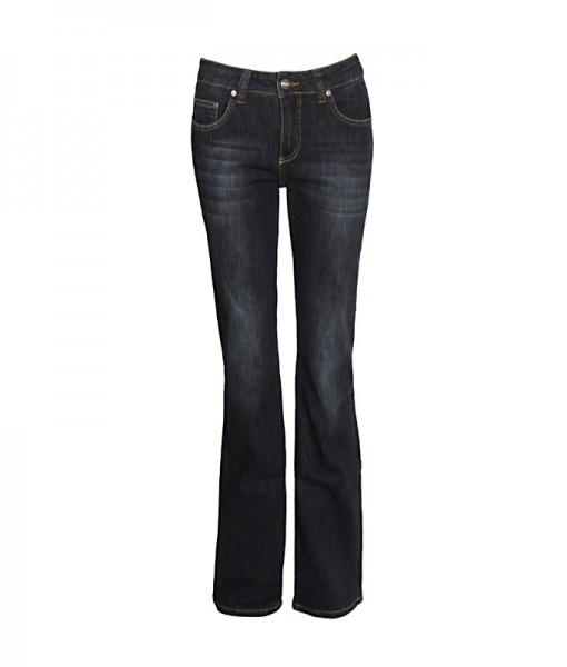 Lena Bootcut Jeans, dark blue vintage used