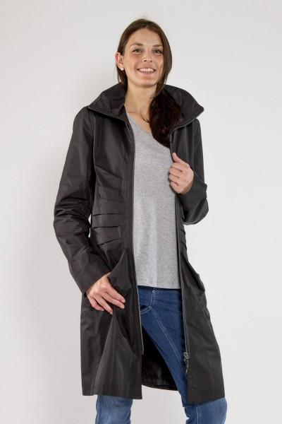 Mantelkleid, schwarz