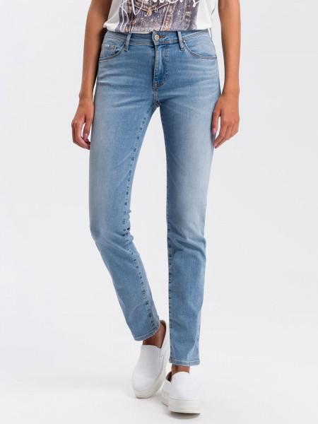 Cross Jeans Anya Slim Fit L36 Inch, summer light blue