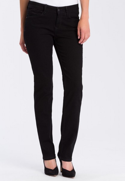 Rose jeans regular fit straight leg, black
