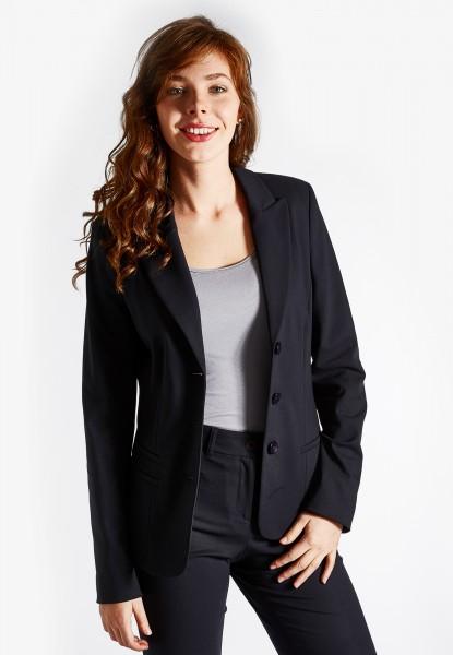 Joli Anzugsblazer einreihig und leicht tailliert, dunkel blau