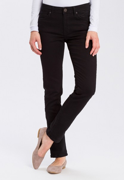 Cross jean Anya slim fit L36, noir
