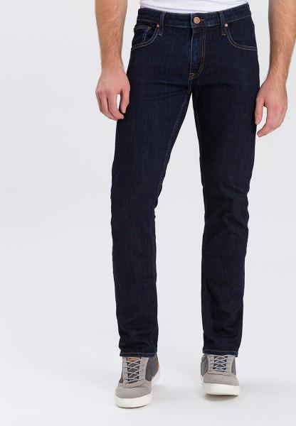 Cross Jeans Damien Slim Fit L36 Inch, dark blue