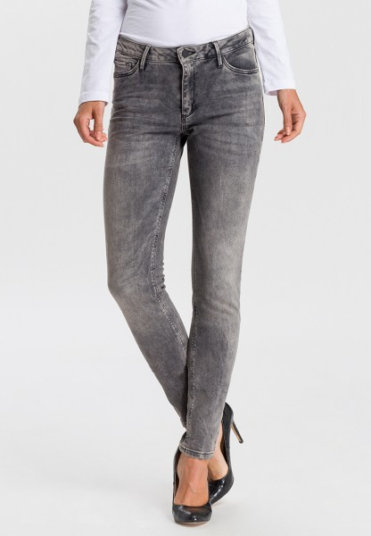 I LOVE TALL Alan Jeans Skinny Fit L36 Inch, dark grey - Tall fashion Jeans mit extra langem Beim