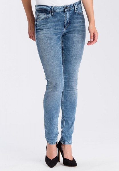 Cross jeans Alan skinny fit L36 inches, light blue used