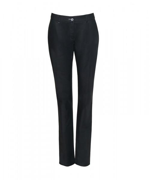 Lea Chino Style Hose, schwarz
