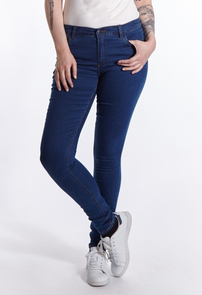 Wonderjeans skinny L37 pouces, dark stone blue