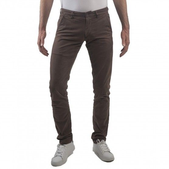 I LOVE TALL CUB Jeans Chino Hosen extra lang 38 Inch Innenbeinlänge kastanienbraun