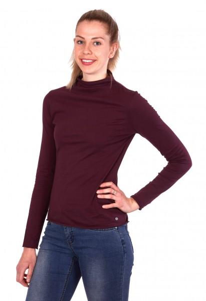 Long sleeve shirt turtle neck organic cotton