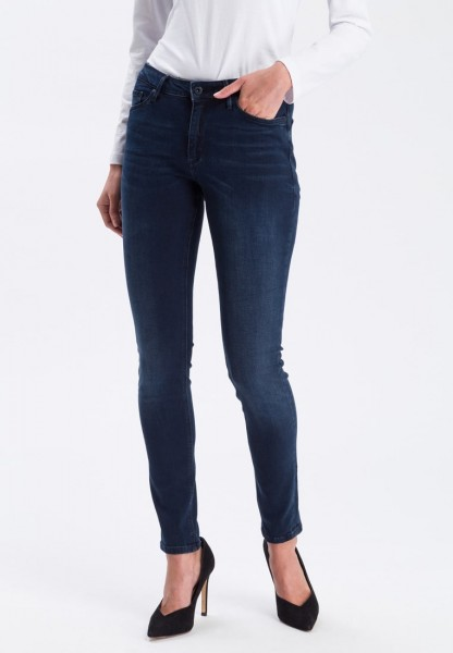 Cross Jeans Alan Skinny Fit L36 Inch, dark blue