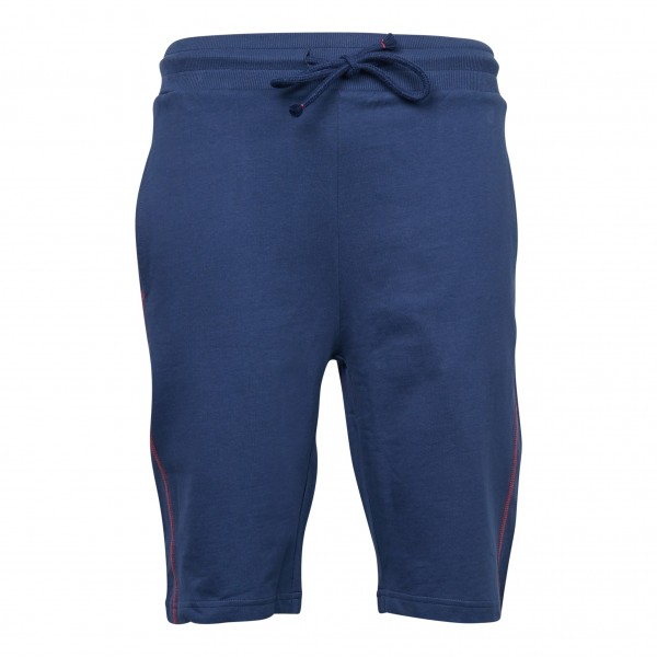 Sweat shorts longsize, navy blue
