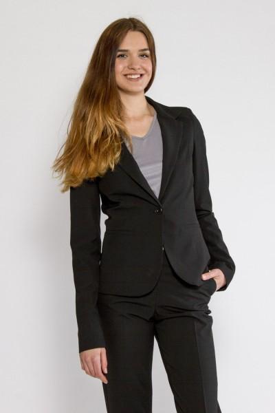 Giselle Business Blazer, schwarz