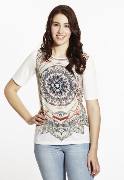 Mandala T-Shirt, offwhite