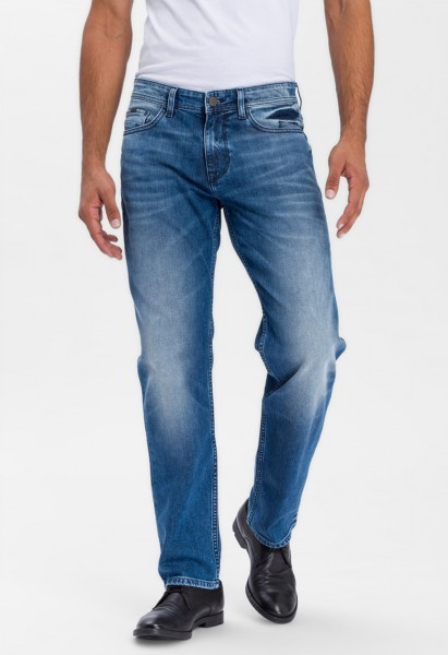Cross Jeans Antonio Relaxed Fit L38 Inch, mid blue used