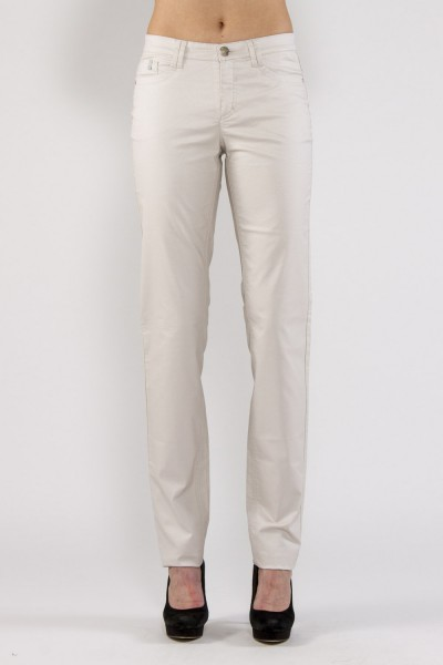 Bona schmale Jeans mit Perlmuttcoating, offwhite