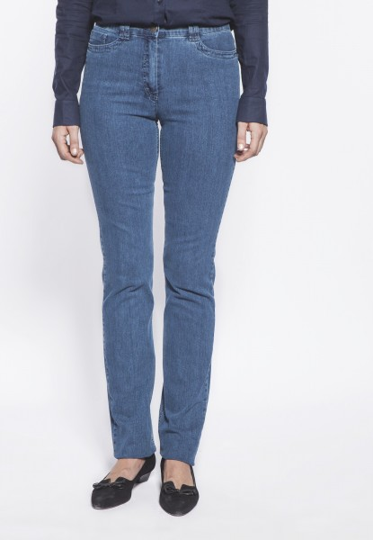 CS-Ricci Jeans straight cut, mittelblau