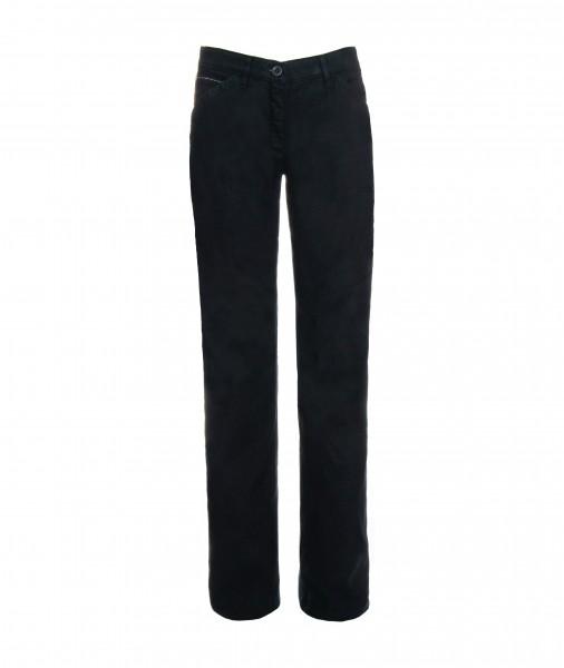 Christie Leinenhose mit Baumwolle, weites Bein