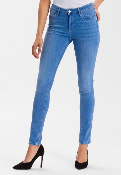 Cross Jeans Alan Skinny Fit High Waist, bright blue - 34 Inch