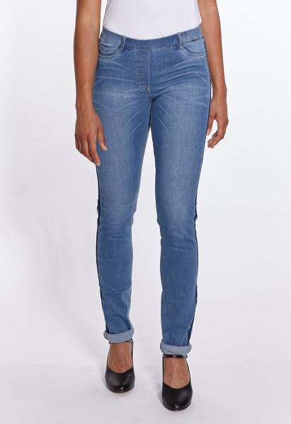 Janna Fashion Jeans mit Naht, mid-blue