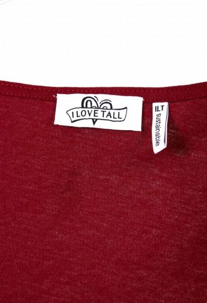 T-shirt à col rond en coton biologique