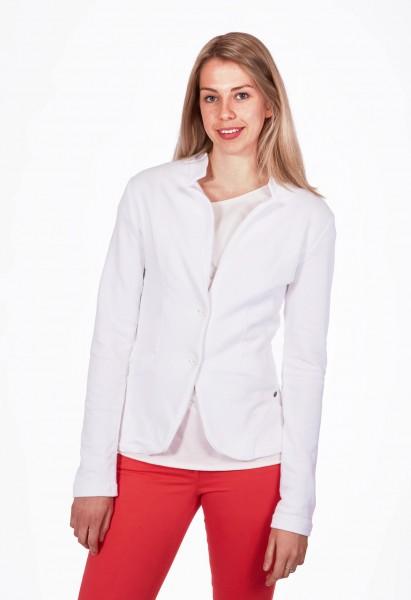 Jersey Blazer, white