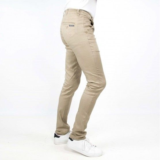 Gustave cotton linen trousers slim fit L38 inches