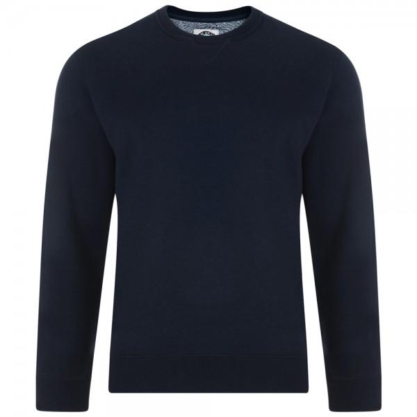 I LOVE TALL Sweatshirt Pullover extra lang dunkel blau