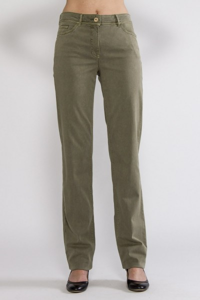 Grace casual smart Hose, khaki