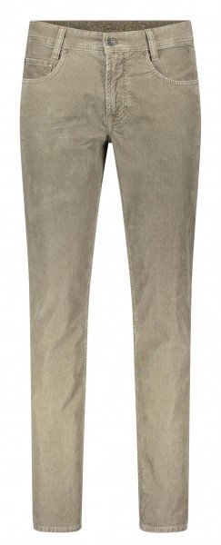 MAC Arne 5-pocket-style cord trouser L38 inches, beige