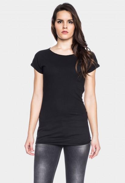 Coton organique T-shirt Anju, noir