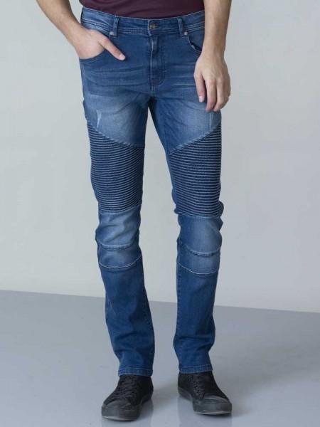 I LOVE TALL D555 DUKE Clothing Jeans im Biker Stil extra lang L38 Inch