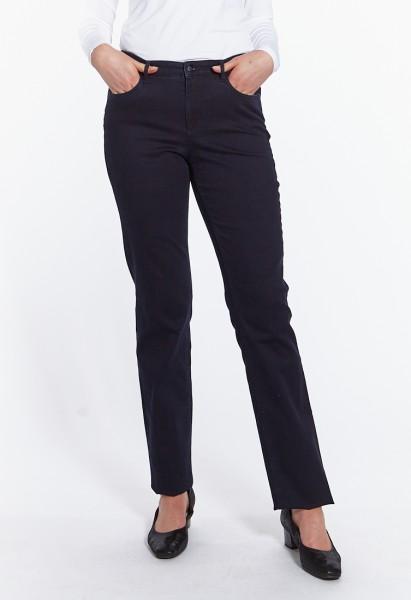 Luna jeans coupe ample L38 pouces, bleu foncé