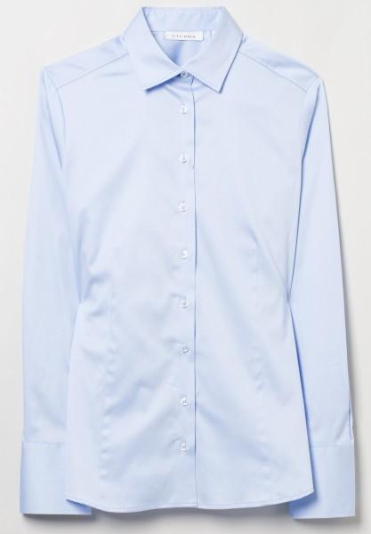Eterna blouse slim fit, light blue