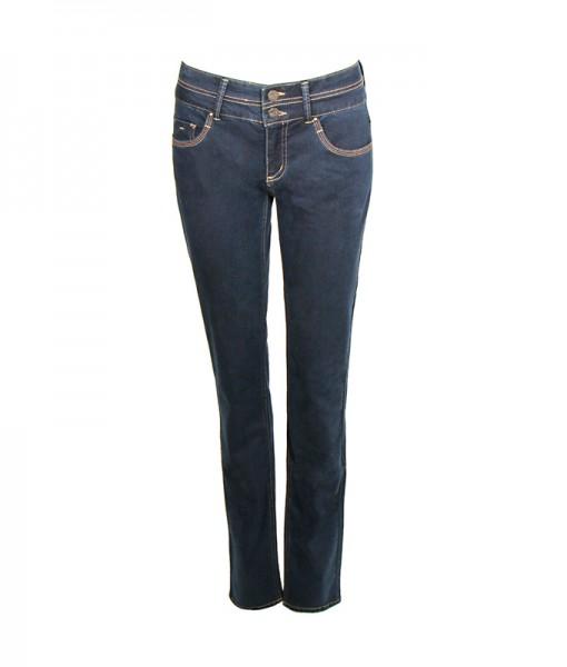 Grace Power Stretch Jeans, blue denim