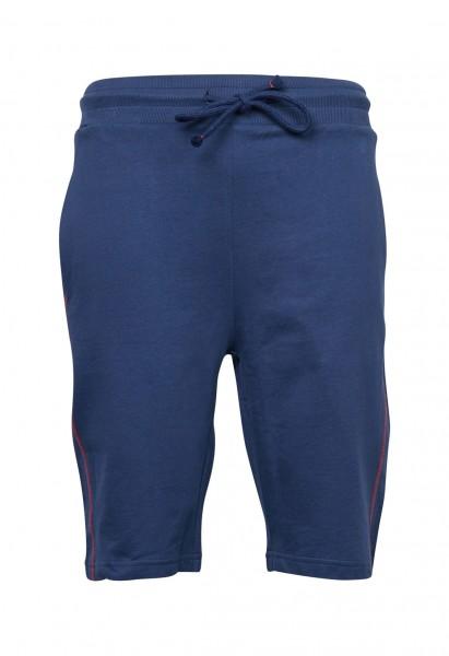 Sweat Shorts Langgrösse, navy blau