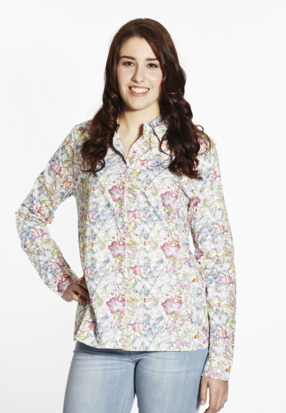 Bluse mit Flowerprint, multi colour