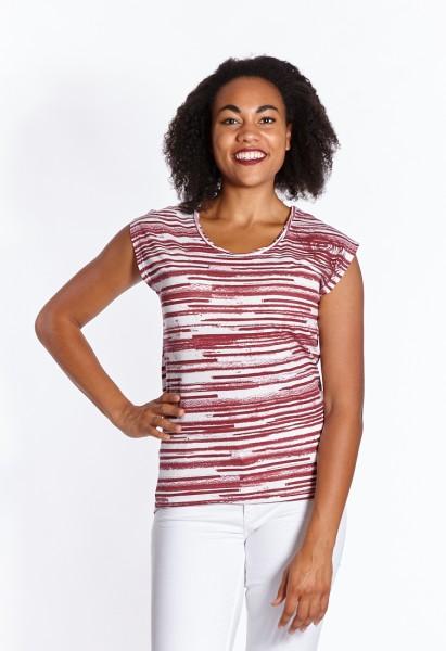 T-shirt red stripes