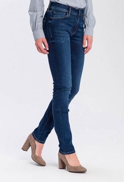 Cross Jeans Anya Slim Fit L34 Inch, dark blue washed
