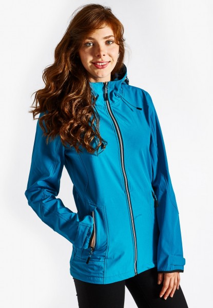 Softshell jacket, teal