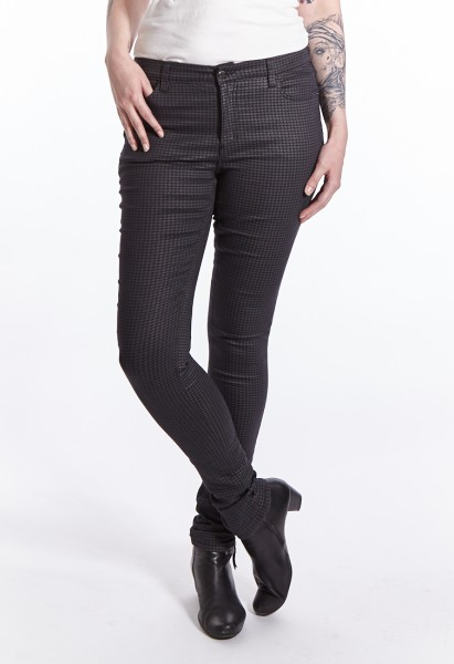 Wonderjeans skinny L37 inches, black houndstooth