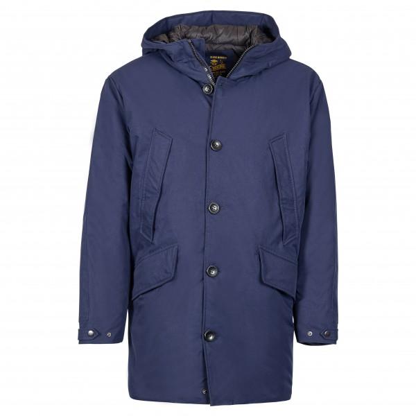 Hooded winter parka, blue