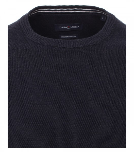 Knitted jumper round neck
