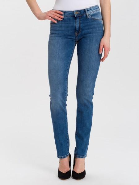 Cross jean Anya slim fit L36, soft blue used