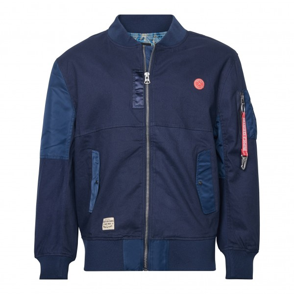 Bomber Jacket, navy blue