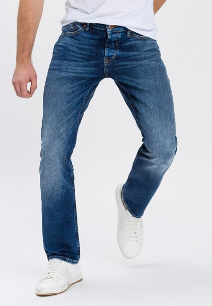 Cross Jeans Dylan L36 inches, dark mid blue