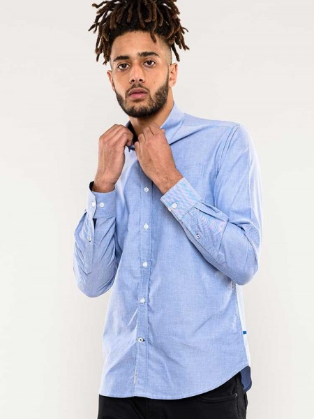 Clarance D555 button down long sleeve shirt